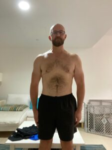 Simon after losing 46lbs